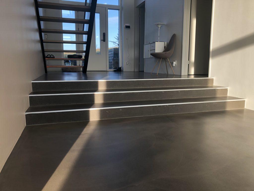trappe lille niveauforskel beton